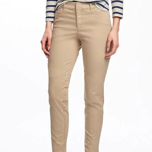 Lot of 3 Mid-Rise Pixie Ankle Chinos - 14